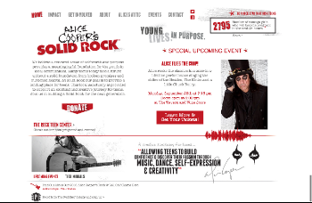 Alice Cooper's Solid Rock